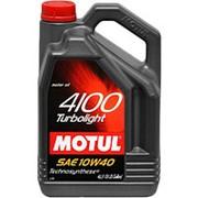 MOTUL 4100 Turbolight 10w40 4 л п/с фото
