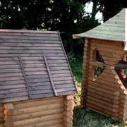 Изготовление деревянных конструкций для сада и дома фото