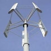"""Ветрогенератор """"АЛЬЭН Air Vertical - 5 кВт"""" (вертикально-осевой, вертикальный ветряк) фото"""