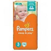 Подгузники Pampers Sleep & Play 3 (5-9 кг), 78 шт фото