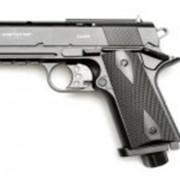 Пневматический пистолет Beretta 92 FS (с деревянными рукоятками) фото