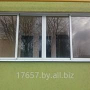 Алюминиевые балконные рамы фото