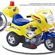 Электромотоцикл детский TjaGo Mini Police фото