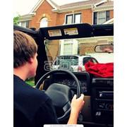 Водитель с авто, аренда автомобиля, прокат BMW фото