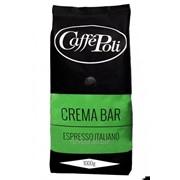 Кофе в зернах Poli Crema Bar, 1 кг фото