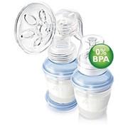 Молокоотсос Philips AVENT c системой хранения молока фото