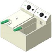 Фритюрница (чебуречница) электрическая настольная 2х5 л фото