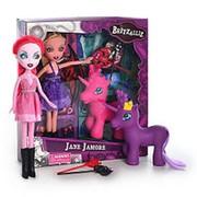 Игровой набор Кукла 36098 BZ с единорогом, 2 вида фото