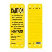 """Бирка для высотных работ """"Caution"""" S4701 фото"""