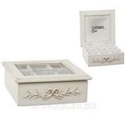 Деревянная коробка для конфет фото