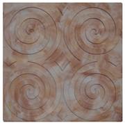 Тротуарная плитка «Спирали» фото