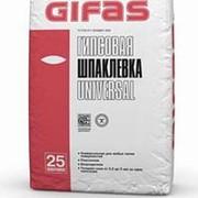 Шпатлевка Gifas Универсал гипсовая 25 кг фото