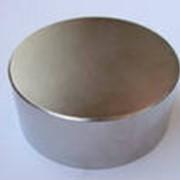 Неодимовый магнит D70*Н40 фото