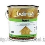 Грунтовка для древесины 2,5 л Belinka Base — г фото