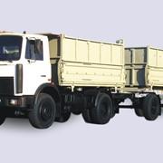 Самосвальный автопоезд МАЗ-5551 A2 фото