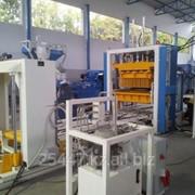 Стационарная машина по производству блоков, брусчатки, бордюров Sumab E-400 фото