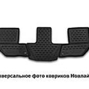 Коврики в салон CHEVROLET Trailblazer, 2013-> 1 шт., 3 ряд (полиуретан) Новлайн фото