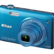 Цифровой фотоаппарат Nikon COOLPIX S5200 Blue фото