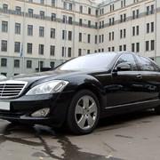 Мерседес Бенц S-class W221 с водителем фото