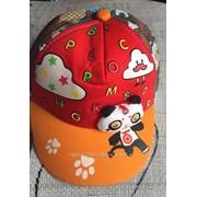 Детская кепка Панда 4-9 лет, код товара 267334403 фото