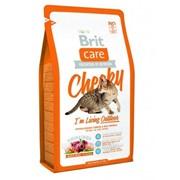 Сухой корм для кошек Brit Care Cat Cheeky I am Living Outdoor 0,4 кг фото