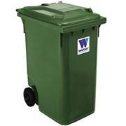 Евроконтейнеры для сбора отходов и мусора MGB 360 литров - Контейнеры для ТБО марки Weber фото