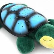 "Проектор звездного неба ""Черепаха"" музыкальная(набор мелодий) +USB шнур. фото"
