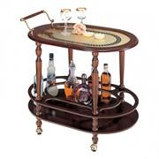 Сервировочный столик светлый фото