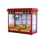 Аппарат для приготовления попкорна с витриной фото