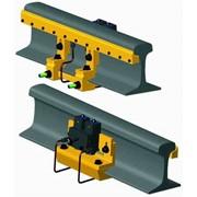 Рельсосмазыватель двухплунжерный с гребеночной системой раздачи смазки на длине 700 мм РС-2П.Г-700-1,3