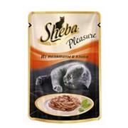 Корм для кошек SHEBA Pleasure из Телятины и Языка, 85г фото
