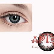 Линзы контактные цветные, черные фото