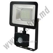 Прожектор светодиодный 4 с датчикам 20W SMD IP65 6500K Horoz (0680040020) фото