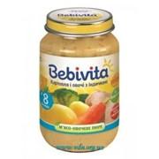 Пюре Bebivita 190г Картофель и овощи с индейкой фото