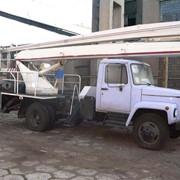 Аренда автовышек в Киеве. Услуги автовышки 18 метров. фото