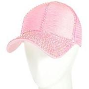 Бейсболка женская 42018-6 розовый фото