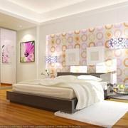 Спальня яркая фото