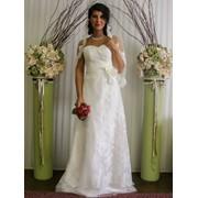 """Греческое свадебное платье со шлейфом """"Илона"""" фото"""