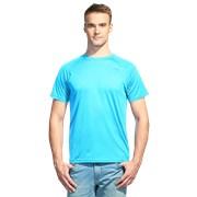 Мужская спортивная футболка StanPrint 30 Бирюзовый неон 12 лет фото