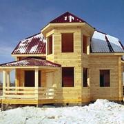 Проект деревянного дома AS-718, дом деревянный фото