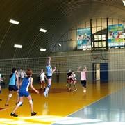 Ангары под спорт зал фото