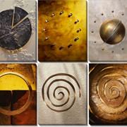 Модульная картина Спирали и круги , Неизвестен фото