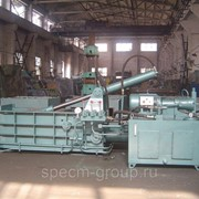Пакетировочный пресс для металлолома Aupu Y81F-135A фото