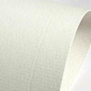 Бумага дизайнерская фактурная с покрытием Stucco Pentagram Premium White фото