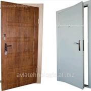 Металлические двери MD-4 фото