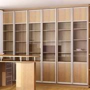 Шкаф для библиотек на заказ фото