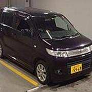 Хэтчбек 4 поколение SUZUKI WAGON R кузов MH34S гв 2010 пробег 104 тыс км цвет пурпурный фото