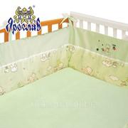 Защита для детской кроватки ТМ Ярослав, Зеленый фото