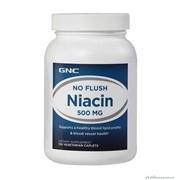 Витамины и минералы GNC Niacin 500 мг 100 таблеток фото