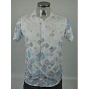 Рубашка мужская (100% хлопок) р.ряд. 46-48-50-52 Артикул: 6000 фото